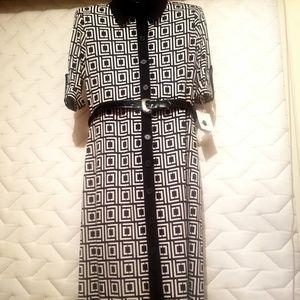 Liz Clairborne Signature  Block Dress